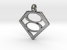 Smallville House of El necklace V2 3d printed
