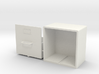 1:12 Airfix Austin A35 Record Cabinet (Top Bun) 3d printed