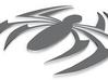 SCARLET SPIDER EMBLEM 3d printed
