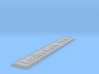 Nameplate Louise-Marie F931 3d printed