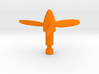 Micro Cessna Triple Propeller Missile  3d printed
