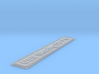 Nameplate USS Gearing DD-710 3d printed