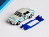 1/32 Scalextric Ford Escort Mk1 Chassis for IL pod 3d printed Chassis compatible with Scalextric Ford Escort Mk1 body (not included)