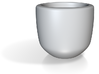 Apollo's Espresso Cup 3d printed