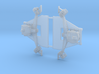German Railroad car spring and journal assembly se 3d printed