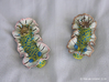Yeri the Nudibranch 3d printed Becia vs Yeri size & orientation: Hand Painted White Strong & Flexible Polished