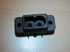 AC-M09 Compatible AC Socket for Saturn 3d printed Without contact pins.