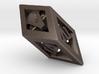 Crystal Dice Pendant (Roman Numerals) 3d printed