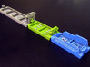 Cargo, Cruise, Giant, Milit. & Sail. ships (24 pcs 3d printed Hand-painted White Strong Flexible