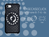for iPhone 8-7-6-6s : smooth : CASECASE CLICK 3d printed