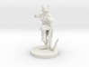 Catfolk Female Monk 3d printed