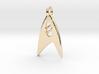 Star Trek - Starfleet Science (Pendant) 3d printed