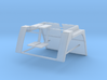 Scania LK guards / fenders and steps 1/24 3d printed