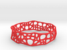 Voronoi Dodecagonal Bracelet 20mm (002) 3d printed