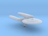 Terran General Class Dreadnought - 1:7000 3d printed