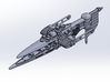 Last Exile.Dreadnought of Ades Federation 3d printed