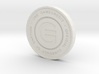 Physical Game Credits Coin thin model 3d printed