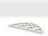 28mm Scale Large Gothic Arch Window 3d printed