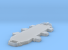 1/600 USN BB59 Superstructure Level 2 3d printed