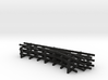 1/144 narrow gauge track set 3d printed