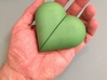 Heart Amulet Big - Outer Part 2 Right 3d printed