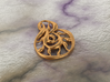 Double wave 3d printed bronze material