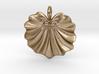 Seashell Fan Pendant 3d printed
