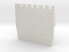 HOF032  - Castle wall 2 3d printed