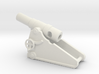 russian heavy 8 inch cannon m 1877 1/72  3d printed