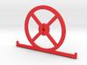 1.8 HD setup wheel with toe plates 3d printed