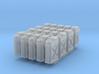 1/56 US Jerrycan x20 Set101 3d printed