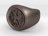 German Eagle Ring 3d printed