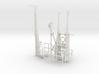 1/16 US Gato Fairwater Detail KIT 3d printed