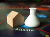 Pandemic Research Stations, Set of 6 3d printed Should the CDC be wooden or White Strong and Flexible? You choose.