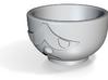 Cuphead defeated shotglass 3d printed