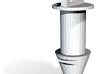 CB750-CB550 76-78 Filler Lid Lock v1.2 INNER 3d printed