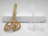 Celtic Design Earring - LEFT 3d printed