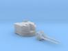 "1/96 Battle Class 4.5""/45 QF MKIV RP10 Gun x1 3d printed 1/96 Battle Class 4.5""/45 QF MKIV RP10 Gun x1"