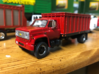 grain truck box 1/64 3d printed finished and installed for reference only