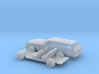 1/87 1974-76 Ford Torino Station Station Wagon Kit 3d printed