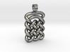 Plate celtic knot [pendant] 3d printed