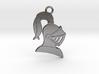 Knight Helmet Pendant/Keychain 3d printed