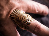 Native American Indian Chief Ring 3d printed