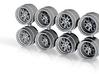 OL Fuchs 7-3 Hot Wheels Rims 3d printed