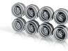 Volk Artisan Fins 7-5 JH2 Hot Wheels Rims 3d printed