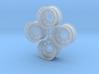 Nascar Aero Wheel Set 3d printed