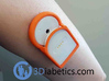 Kiwi Slim Shell for MiaoMiao Diabetic Monitor 3d printed