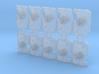 10x Dragon Blaze - Marine Boarding Shields w/Hand 3d printed