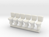 Toilet 02.HO scale (1:87) 3d printed