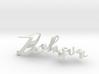 3dWordFlip: Zohar/Taly 3d printed